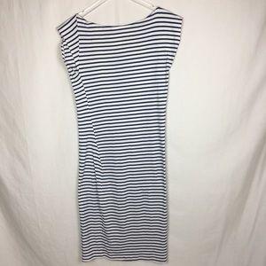 Study Dresses - Study Eco-friendly Stripped Twist Dress